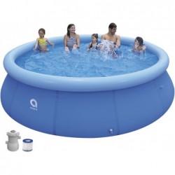 Piscina Desmontável com Depuradora 1136 L. Jilong 17794EU de 360x76 cm Promt Pool Set