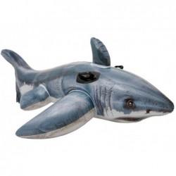 Tubarão Branco Insuflável Intex 57525 De 173x107 Cm