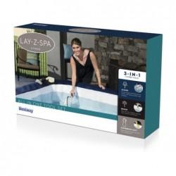 Set Lay-Z-Spa com Colhedor de Folhas, Escova e Luva para Linha Flutuante Bestway 60310 | Piscinasdesmontaveisweb