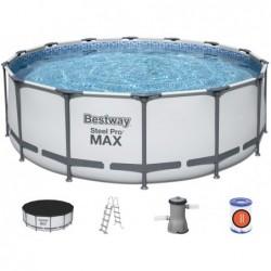 Piscina Desmontável Steel Pro Max 427x122 cm. Bestway 5612 | Piscinasdesmontaveisweb