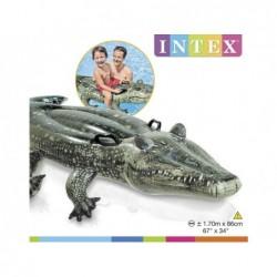 Crocodilo Insuflável Intex 57551 De 170x86 Cm | Piscinasdesmontaveisweb
