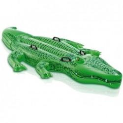 Crocodilo Insuflável Gigante Intex 58562 De 203x114 Cm