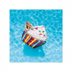 Colchonete Cupcake Intex 142x135 Cm. 58770 | Piscinasdesmontaveisweb