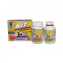 Kit De Cloro E Anti-Algas Para Pequenas Piscinas Pqs 1617028