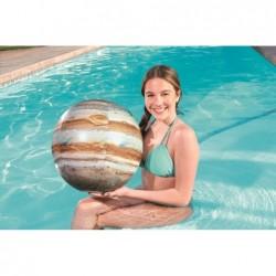 Bola Inflável De 61 Cm. Júpiter Luz Led Bestway 31043   Piscinasdesmontaveisweb